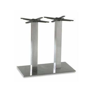 Steel Double Column Indoor Outdoor Table Base